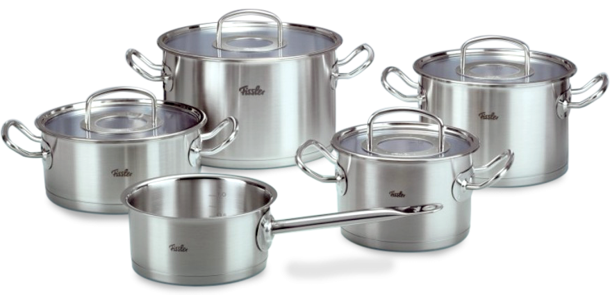 Bộ nồi Fissler Pro Colletion 5 chiếc