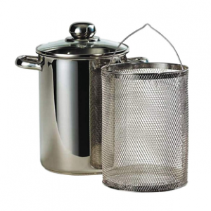Nồi inox bếp từ dùng luộc rau củ ELo Asparagus pot 16cm
