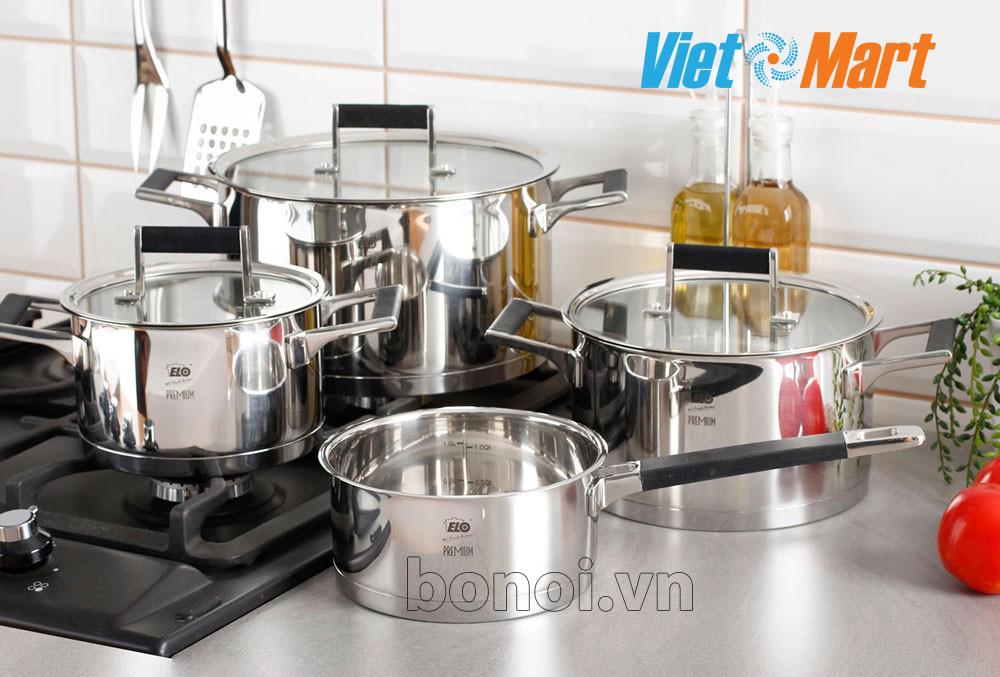 Bo noi elo ELO Skandinavia có thể nấu nướng đa dạng các món ăn