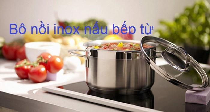 Nồi sử dụng được trên tất cả các loại bếp kể cả bếp từ