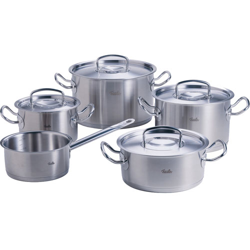 Bộ nồi Fissler Pro Colletion 5 chiếc ava