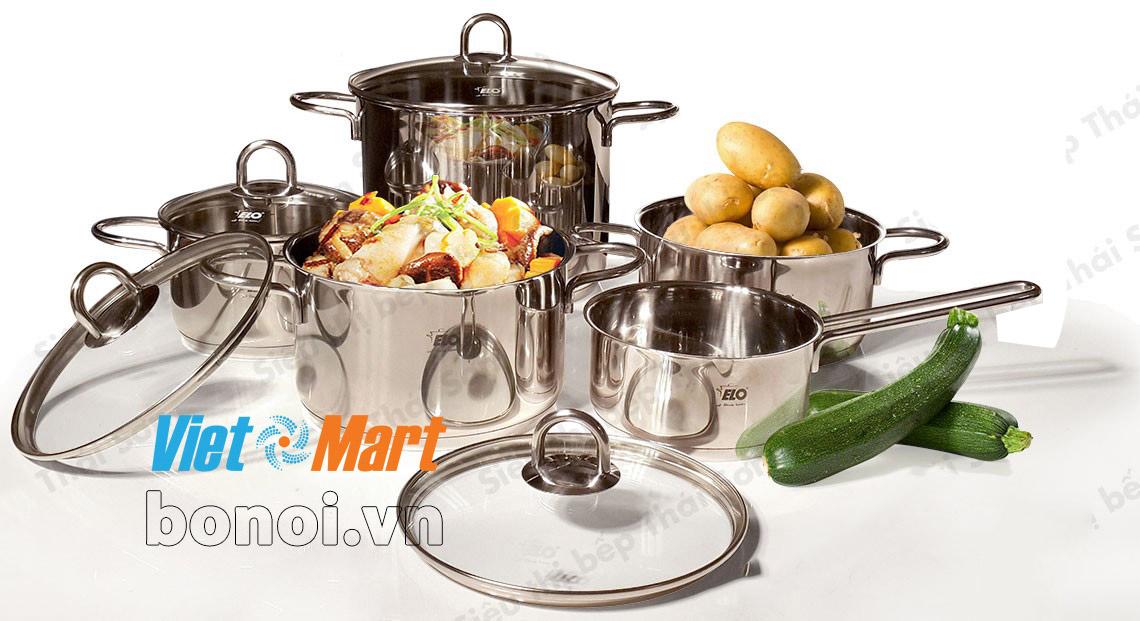 bộ nồi elo chất lượng tốt sử dụng bền đun nấu nhanh