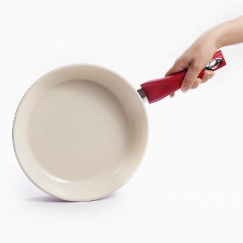 Chảo sứ chống dính bếp từ Elmich