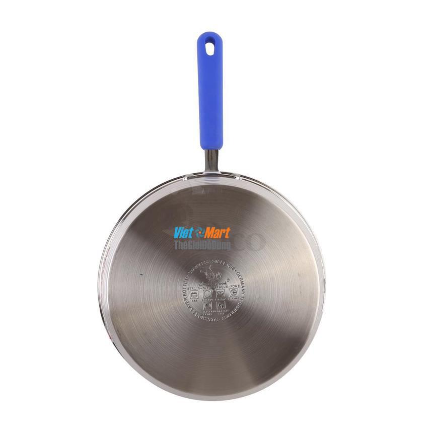 Bộ nồi inox Smartcook 3 chiếc kèm chảo đáy 5 lớp sử dụng được cho bếp từ