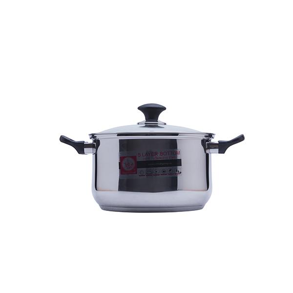 Bộ nồi Smartcook SM1496 sử dụng inox cao cấp 201