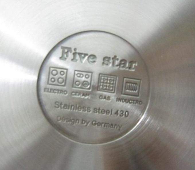 Chảo chống dính Fivestar 28cm chất liệu 430 dùng được cho bếp từ