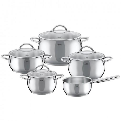 Bộ nồi inox WMF Cookware Nobile 5 chiếc