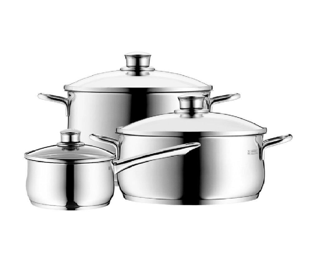 Bộ nồi WMF Diadem Plus Cookware 3 chiếc