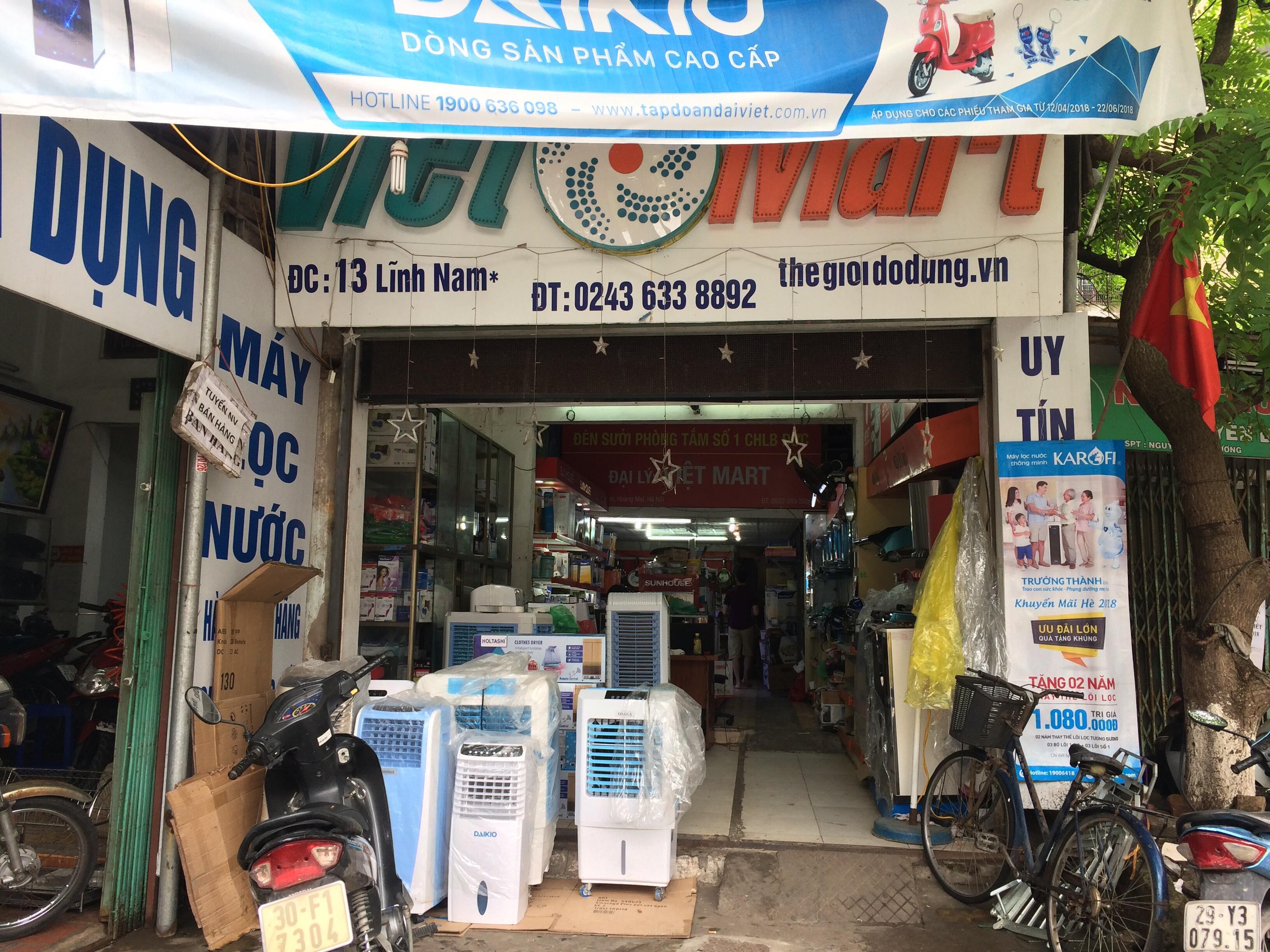 Thế Giới Đồ Dùng Việt Mart chi nhánh 13 Lĩnh Nam-Hoàng Mai-HN