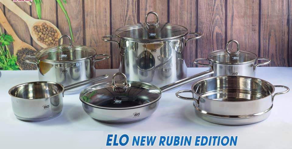Bộ nồi ELO New Rubin Edition 6 món của Đức