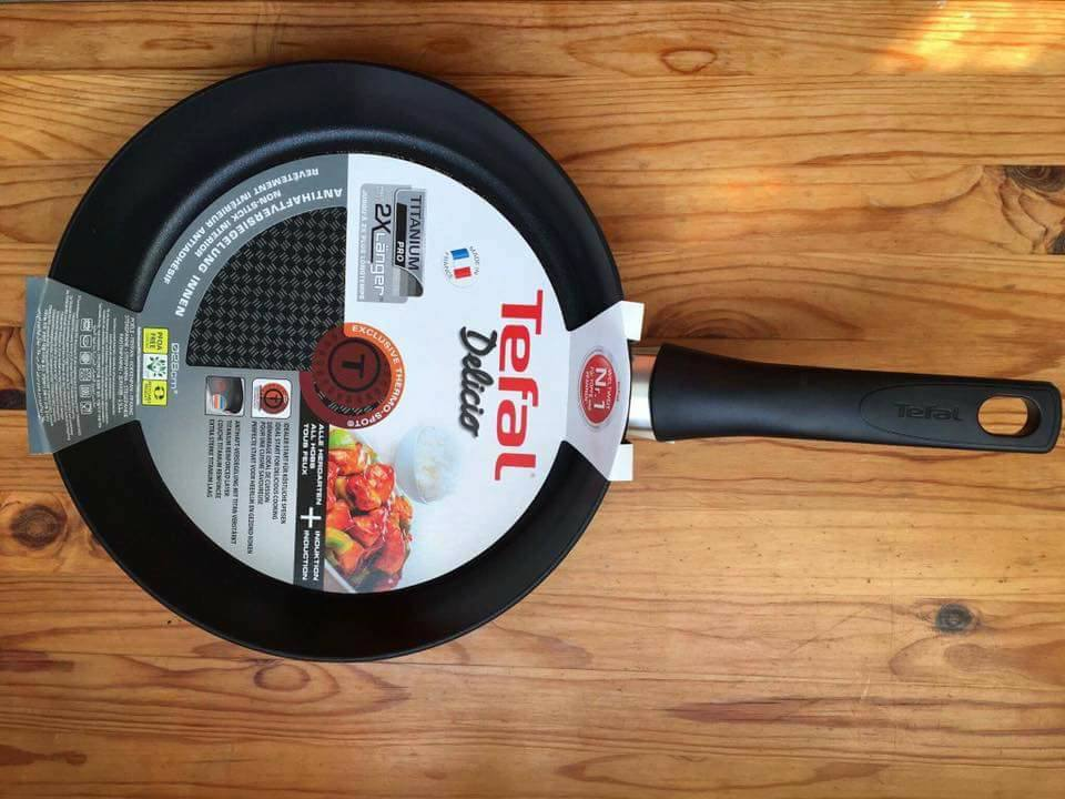 chao chong dinh bep tu Tefal chef 26cm Made in Frange